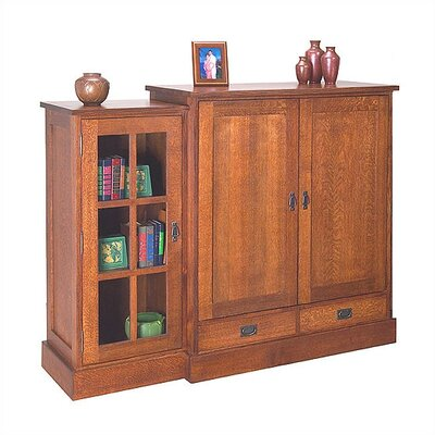 Craftsman Entertainment Entertainment Center by Anthony Lauren