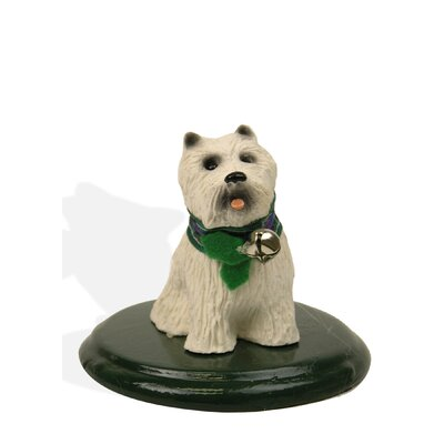 Byers' Choice White Scottie Dog Figurine