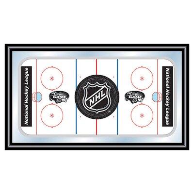 Trademark Global NHL Hockey Rink Framed Graphic Art