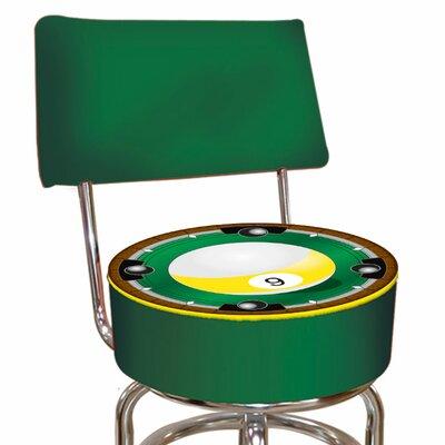 "Trademark Global 31"" Swivel Bar Stool with Cushion"