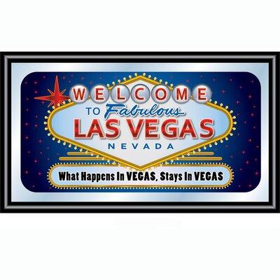 Trademark Global Las Vegas Framed Graphic Art