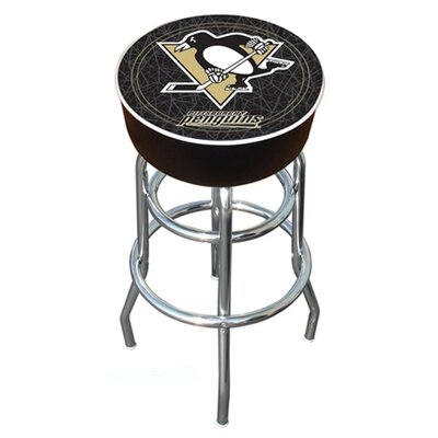 "Trademark Global NHL Montreal Canadians 31"" Swivel Bar Stool with Cushion"