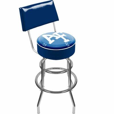"Trademark Global NCAA 31"" Swivel Bar Stool with Cushion"