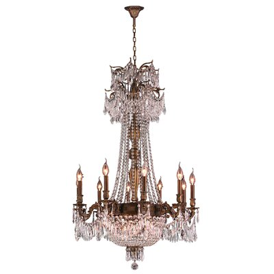Winchester 18 Light Crystal Chandelier by Worldwide Lighting