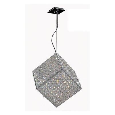 Cube 6 Light Pendant by Worldwide Lighting