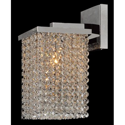 Worldwide Lighting Prism 1 Light Wall Sconce