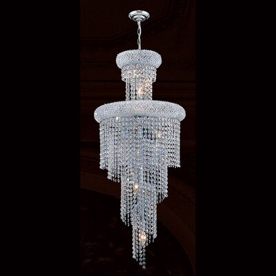 Empire 10 Light Crystal Chandelier Product Photo
