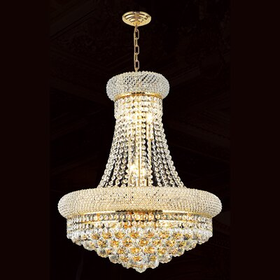 Empire 14 Light Crystal Chandelier Product Photo