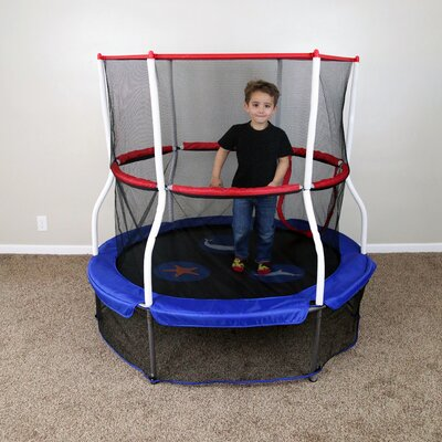 Seaside Adventure 5' Trampoline with Enclosure Product Photo