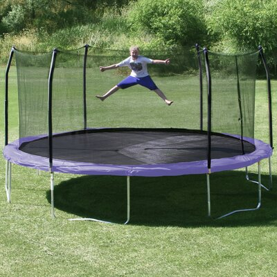 17' x 15' Oval Trampoline with Safety Enclosure Product Photo