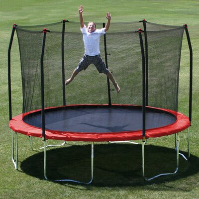 12' Trampoline with Safety Enclosure Product Photo