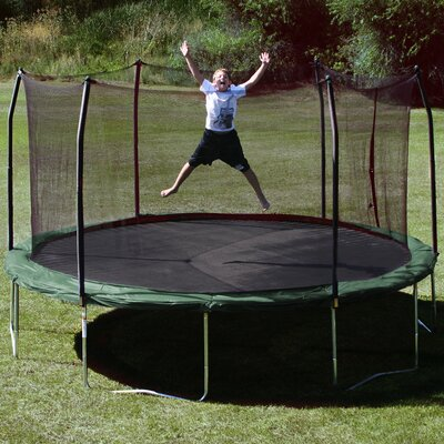 15' Trampoline with Safety Enclosure Product Photo