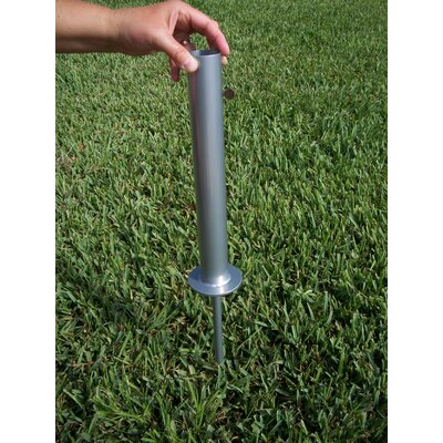 "JTD Enterprises 4"" Flagpole Ground Mount"