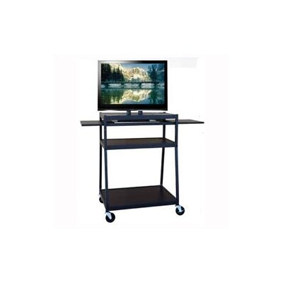 Buhl Wide Body Flat Panel AV Cart
