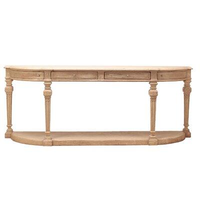 Demilune Console Table by Sarreid Ltd
