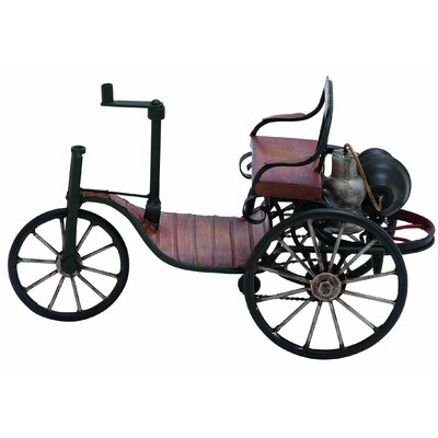 Woodland Imports Vintage Tricycle Carriage Sculpture