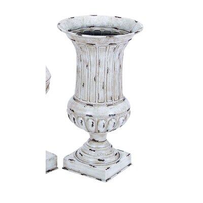 Metal 2 Piece Vase Set by Woodland Imports