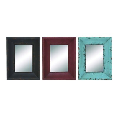 Metallic Wall Mirrors by Woodland Imports