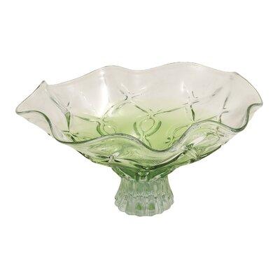 Glass Decorative Bowl by Woodland Imports