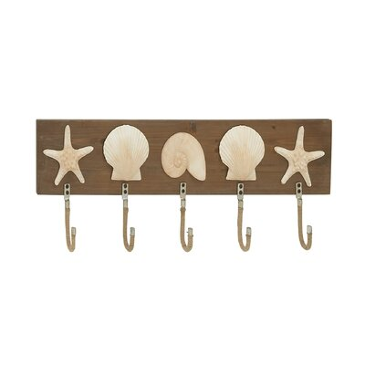 Sparkling Wall Hook by Woodland Imports