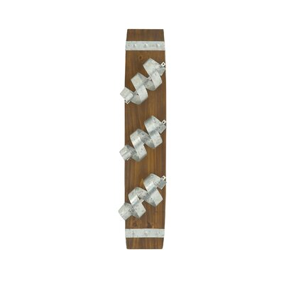 Fantastic 3 Bottle Wall Mounted Wine Rack by Woodland Imports