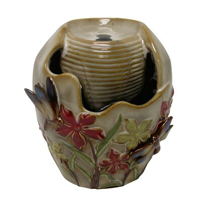 Ceramic Tabletop Fountain by Woodland Imports