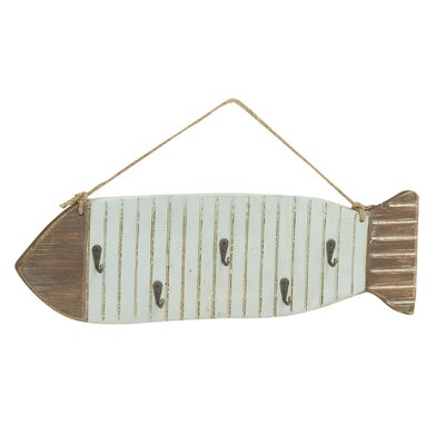 Fish Wall Hook by Woodland Imports