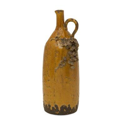 Italia Pitcher Vase by Woodland Imports