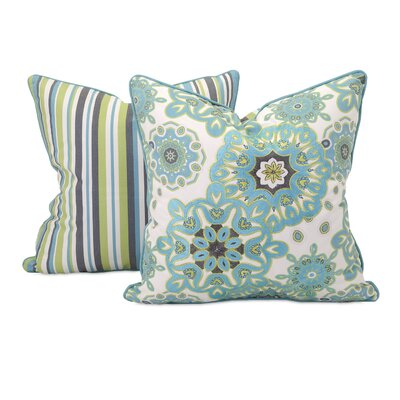 Essentials Cotton Throw Pillow by Woodland Imports