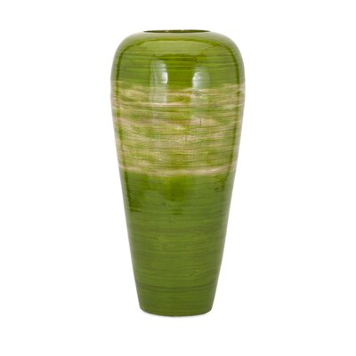 Emil Tall Vase by Woodland Imports