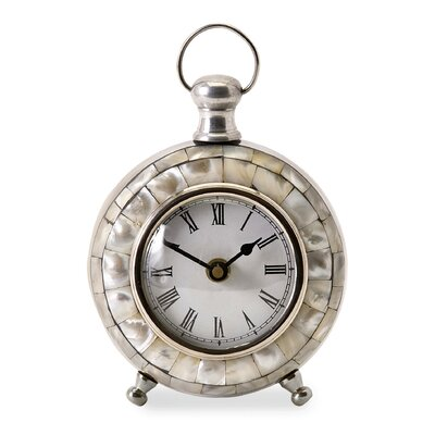 Levine Desk Clock by Woodland Imports
