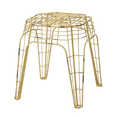 Quincy Short Stool by Woodland Imports
