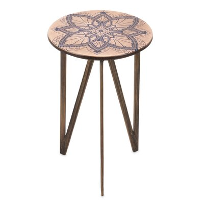 Lina End Table by Woodland Imports