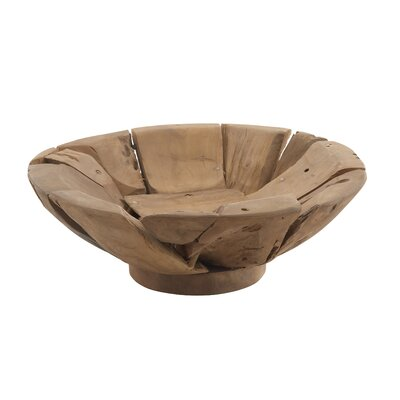 Abstract Bowl by Woodland Imports