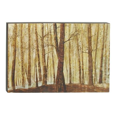 Graphic Art on Canvas by Woodland Imports