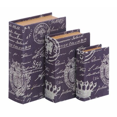 Woodland Imports Paris Lifestyle Theme Book Box