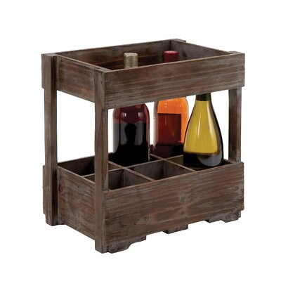 6 Bottle Wine Rack by Woodland Imports
