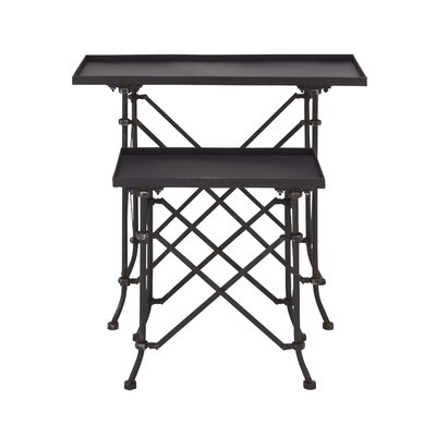 Woodland Imports 2 Piece Nesting Tables Amp Reviews Wayfair