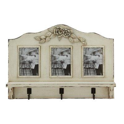 Classic Wood Photo Coat Rack by Woodland Imports