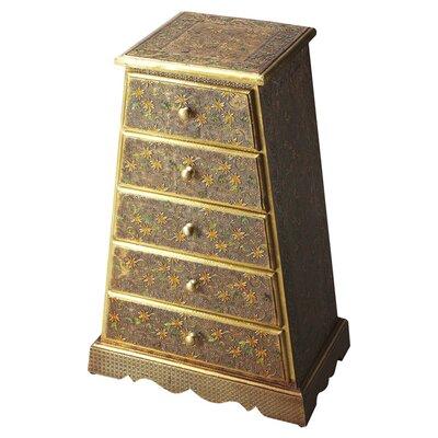 Butler Artifacts Meena Brass Accent Chest