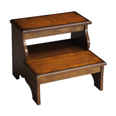 Butler Masterpiece 2-Step Wood Step Stool