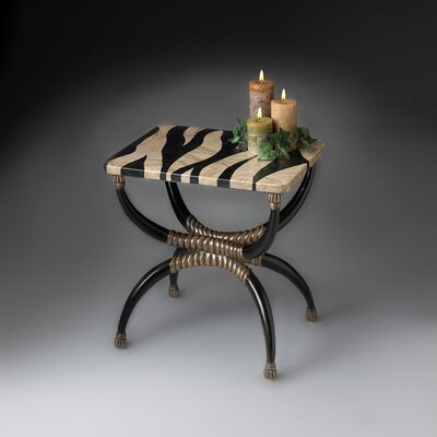 Heritage Zebra End Table by Butler