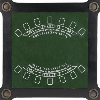 Butler Black Licorice Multi-Game Card Table