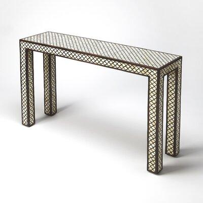 Cosmopolitan Basan Console Table by Butler