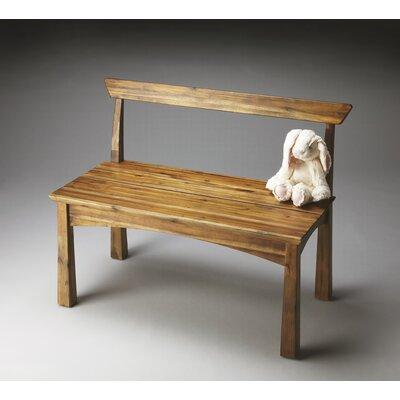Butler Loft Natural Wood Bench Reviews Wayfair