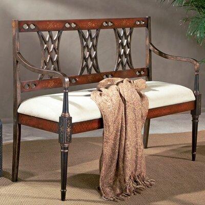 Fawcett Wooden Bench by Butler