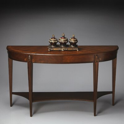Masterpiece Demilune Console Table by Butler