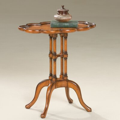 Masterpiece Scalloped End Table by Butler