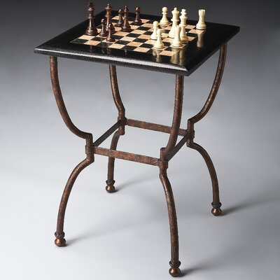 Metalworks Chess Table by Butler
