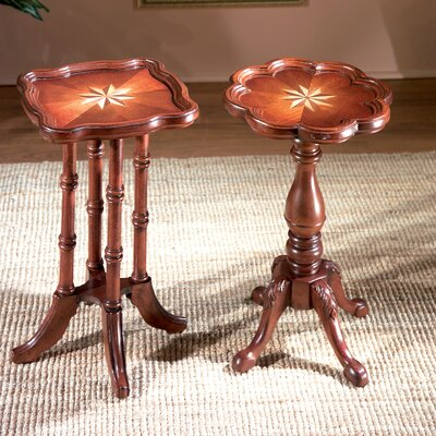 Plantation Cherry Oval Scatter End Table by Butler
